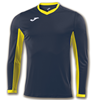 Joma | L/S T-SHIRT CHAMPION IV NAVY BLUE-YELLOW | 11127-JOM-100779.309
