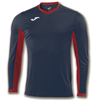 Joma | L/S T-SHIRT CHAMPION IV NAVY BLUE-RED | 11128-JOM-100779.306