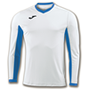 Joma | L/S T-SHIRT CHAMPION IV WHITE-ROYAL BLUE | 11130-JOM-100779.207