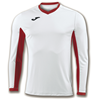Joma | L/S T-SHIRT CHAMPION IV WHITE-RED | 11131-JOM-100779.206