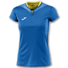 Joma | SHORT SLEEVE T-SHIRT SILVER ROYAL BLUE WOMEN | 11137-JOM-900433.700