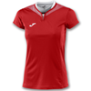 Joma | SHORT SLEEVE T-SHIRT SILVER RED WOMEN | 11138-JOM-900433.602