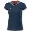 Joma | SHORT SLEEVE T-SHIRT SILVER NAVY BLUE WOMEN | 11140-JOM-900433.331