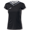 Joma | SHORT SLEEVE T-SHIRT SILVER BLACK WOMEN | 11142-JOM-900433.102