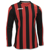 Joma | T-SHIRT COPA RED-BLACK L/S | 11271-JOM-100002.601