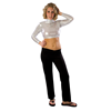 Pizzazz Performance Wear | Adult Metallic Crop Top | 116-PIZ-7600M