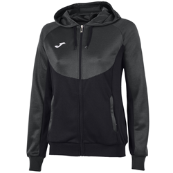 Joma | HOODIE ESSENTIAL DARK GREY-BLACK WOMEN | 11723-JOM-900699.110