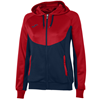 Joma | HOODIE ESSENTIAL NAVY BLUE-RED WOMEN | 11733-JOM-900699.306