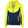 Joma | HOODIE ESSENTIAL NAVY BLUE-YELLOW WOMEN | 11766-JOM-900699.321