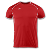 Joma | SHORT SLEEVE T-SHIRT OLIMPIA RED-WHITE | 11891-JOM-100736.600