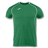 Joma | SHORT SLEEVE T-SHIRT OLIMPIA GREEN-WHITE | 11892-JOM-100736.450