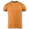Joma | SHORT SLEEVE T-SHIRT OLIMPIA ORANGE.GREEN | 11894-JOM-100736.050
