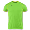 Joma | SHORT SLEEVE T-SHIRT OLIMPIA GREEN-YELLOW | 11896-JOM-100736.020
