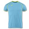 Joma | SHORT SLEEVE T-SHIRT OLIMPIA TURQUOISE-YELLOW | 11897-JOM-100736.010