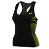 Joma | T-SHIRT SLEEVELESS BRAMA EMOTION BLACK-YELLOW | 12039-JOM-4483.55.205