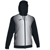 Joma | SUPERNOVA HOODED JACKET BLACK-WHITE | 12486-JOM-101285.102