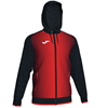 Joma | SUPERNOVA HOODED JACKET BLACK-RED | 12487-JOM-101285.106