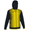 Joma | SUPERNOVA HOODED JACKET BLACK-YELLOW | 12488-JOM-101285.109