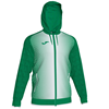 Joma | SUPERNOVA HOODED JACKET GREEN-WHITE | 12555-JOM-101285.452