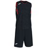 Joma | CAMPUS BASKETBALL SET BLACK-RED N/S | 12793-JOM-101373.106