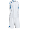 Joma | CAMPUS BASKETBALL SET WHITE-ROYAL N/S | 12802-JOM-101373.207