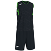 Joma | CAMPUS BASKETBALL SET BLACK-FLUORESCENT GREEN N/S | 12803-JOM-101373.117