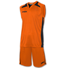 Joma | SET CANCHA ORANGE JERSEY+SHORT | 12846-JOM-1184.12.010