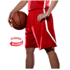 Alleson Athletic | Womens Reversible Basketball Short | 1357-ALL-531PRW