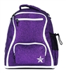 Rebel Athletic | Amethyst Rebel Dream Bag With White Zipper | 14093-REB-DBAMETHYSTWHT
