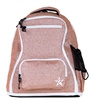 Rebel Athletic | Rose Gold Rebel Dream Bag With White Zipper | 14100-REB-DBROSEGOLDWHT