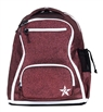 Rebel Athletic | Maroon Rebel Dream Bag With White Zipper Coming Feb 2020 | 14104-REB-DBMAROONWHT