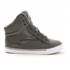 Pastry | Pop Tart Grid Youth Hip Hop Sneaker In Charcoal | 15716-PAS-78864