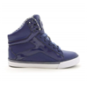 Pastry | Pop Tart Grid Youth Sneaker In Navy | 15717-PAS-78907