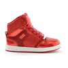 Pastry | Glam Pie Glitter Youth Sneaker In Red | 15727-PAS-85081