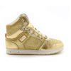 Pastry | Glam Pie Glitter Youth Sneaker In Gold | 15729-PAS-85113