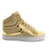 Pastry | Pop Tart Glitter Youth Sneaker In Gold | 15733-PAS-92404
