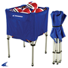 CHAMPRO Sports | Fold-Up Rolling Ball Cart | 5954-CHP-BR10
