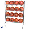CHAMPRO Sports | Ball Rack With Casters | 5956-CHP-BR16