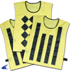CHAMPRO Sports | Sideline Official Pinnies (Set Of 3, 1 Diamond/2 Striped) | 6057-CHP-P422