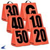 CHAMPRO Sports | Solid Weighted Football Yard Markers | 6066-CHP-A102S