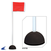 CHAMPRO Sports | Corner Flags With Sand Bases | 6221-CHP-A193SB