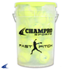 "CHAMPRO Sports | 12"" Fast Pitch Durahide Cover; Pu Core Bucket W/2 Dz 