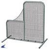 "CHAMPRO Sports | Pitcher's Safety  L-Screen 7'x7' With 40"" Drop 