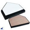 CHAMPRO Sports | In-Ground Home Plate With Wood Bottom | 6463-CHP-B035