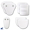 CHAMPRO Sports | Economy 7-Piece Pad Set With Snaps Pee Wee | 6590-CHP-F7PWSN