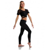 Soffe | Juniors Yoga Mesh Legging | 8572-SOF-1208V