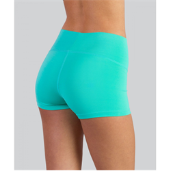 Covalent Activewear | Girls Shorty Short Turquoise | 9635-COV-510633
