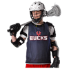 Alleson Athletic | Youth Lacrosse Reversible Pinnie | 9998-ALL-LP001Y