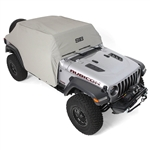 Smittybilt 1071 Water-Resistant Cab Cover w/ Door Flaps Jeep JL 4-Dr