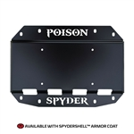 Poison Spyder 19-04-013P1 Tire Carrier Delete Plate w/ Camera Mount